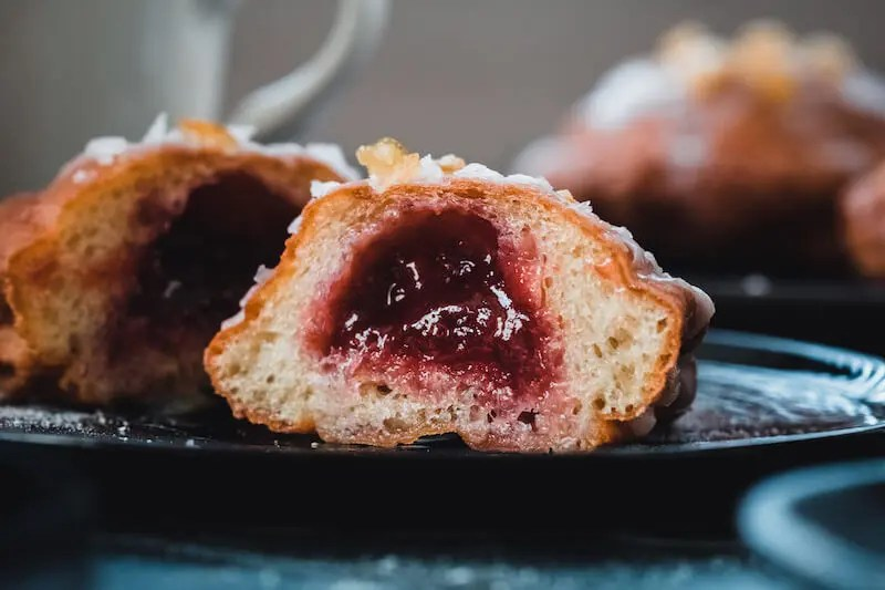 "Easy Vegan doughnuts recipe for the Polish ""fat Thursday"". 1"