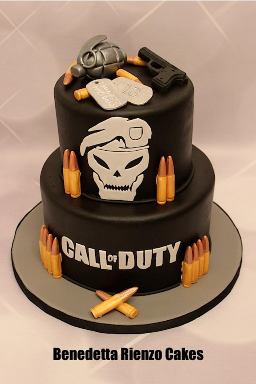 Call Of Duty Cake Recipe : recipe, Birthday, Walmart, Round, Recipe, Collections