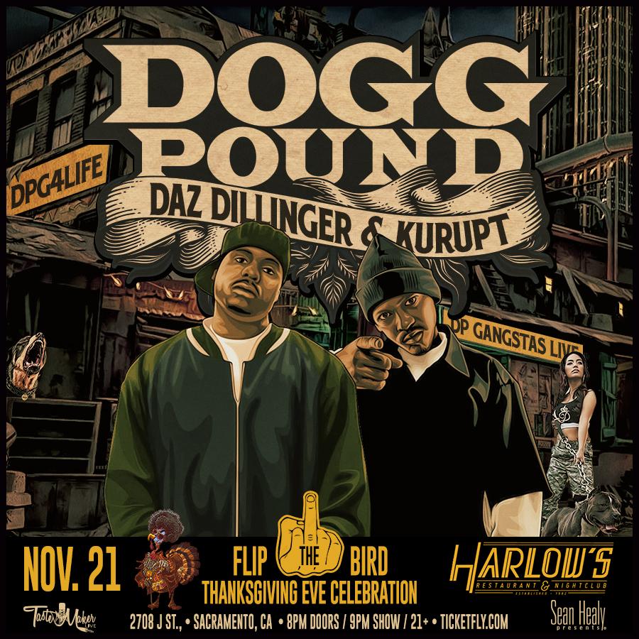 Harlow's, Tastemaker Live and Sean Healy Present Tha Dogg Pound (Daz