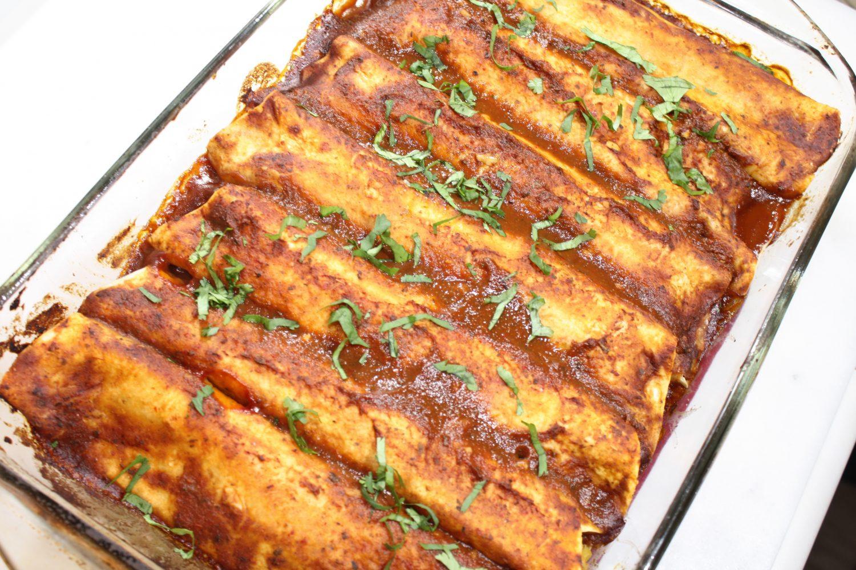 Sweet Potato And Black Bean Enchiladas Thug Kitchen