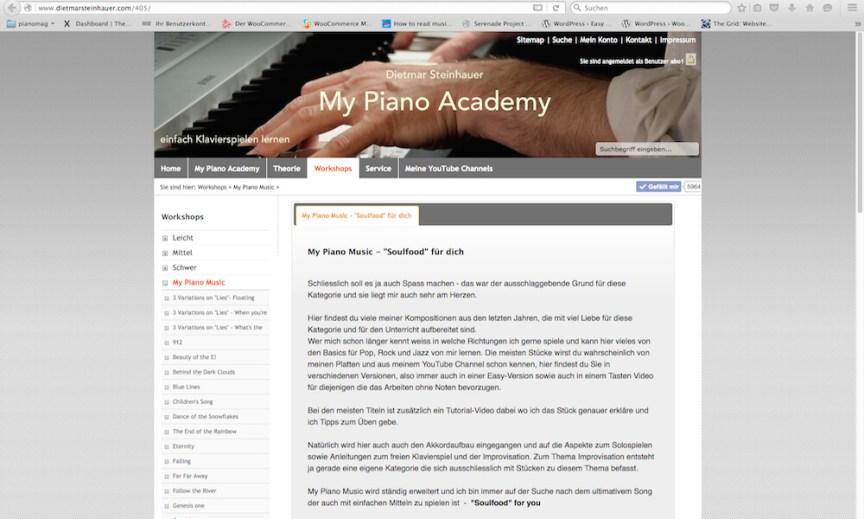 My Piano Music