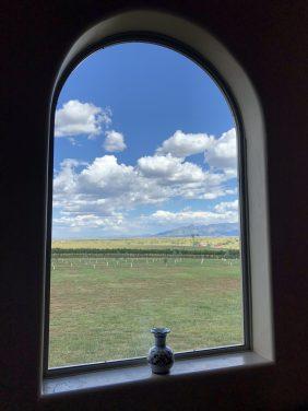 Serene Window View