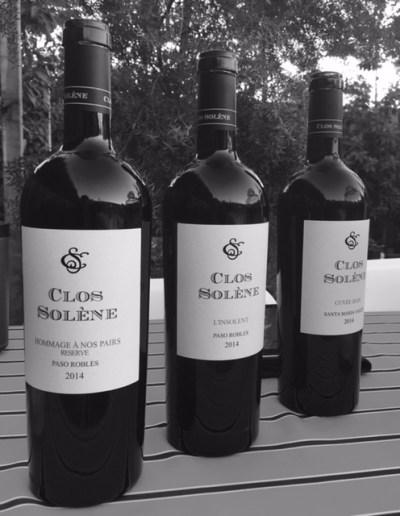 Clos Solène Bottles