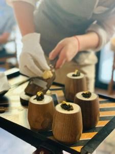 Dessert at Amelia, San Sebastian, Spain 2020 © Credit: Krystal M. Hauserman @MsTravelicious