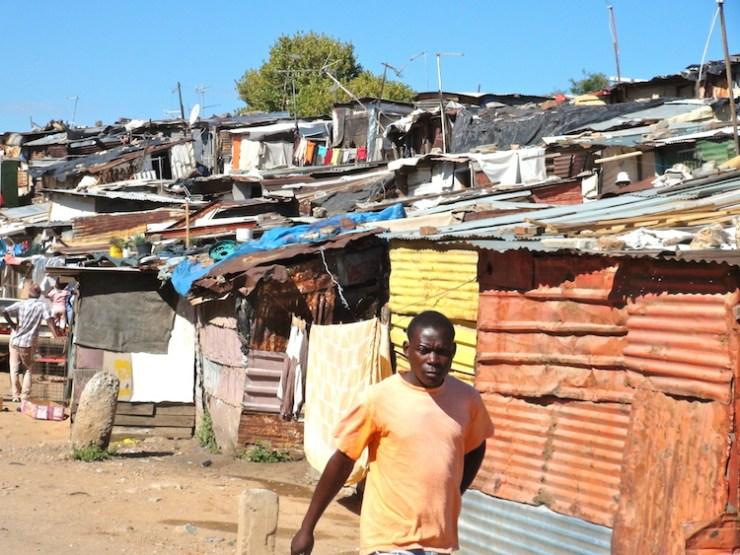 Alexandra Township informal shack development