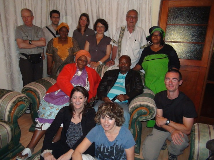 Cape Town-Johannesburg inter-cultural supper with family