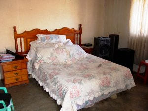 Homestay Africa, mainly double beds