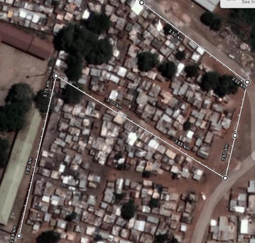 Walk C Holomisa Settlement