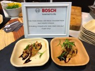 Bosch treats, served up fresh by Chef Wards