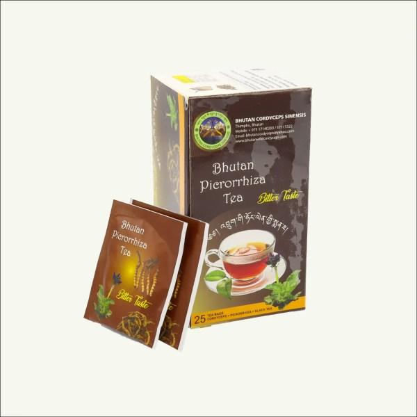 Bhutan Cordiceps sinensis Picrorhiza tea