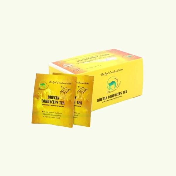 Bhutan Cordyceps Green Tea with Matsutake 1