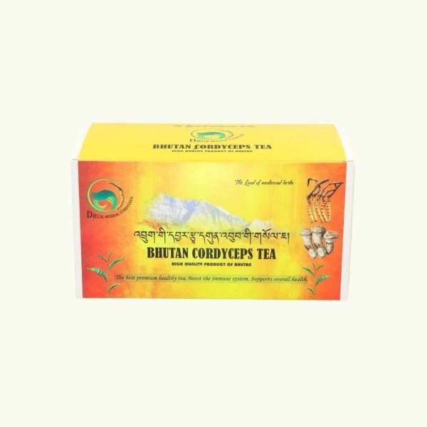 Bhutan Cordyceps Green Tea with Matsutake 4