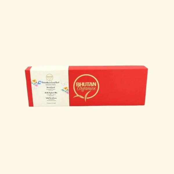 Bhutan Organics Gift box tea set 1