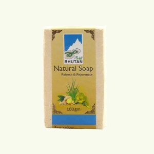 Lemongrass and ginger soap by Bio Bhutan 2