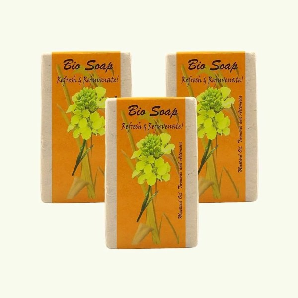 Turmeric and Artemisia soap by bio bhutan2