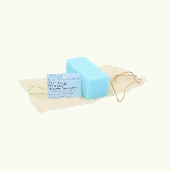 Artemisia and peppermint Glycerine Soap