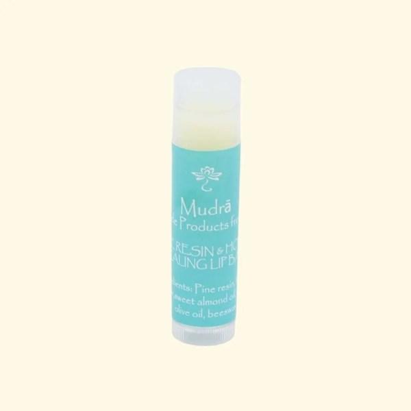Pine resin and honey lip balm by Mudra 1