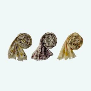 Eco-print shawl by Colours of Bhutan 1