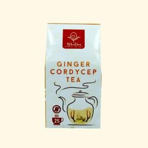 Bhutan Superfood - Organic Ginger Cordyceps Tea 2