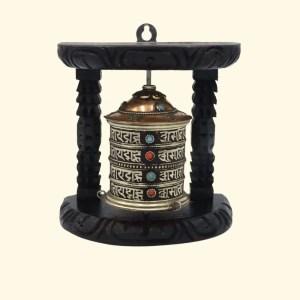 Wall prayer wheel - PRWH002 2