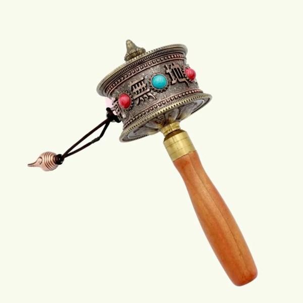 Handheld prayer wheel 3