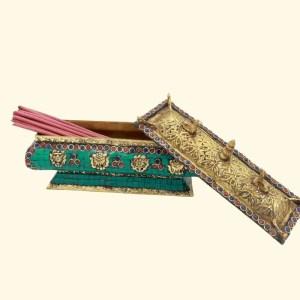 Bhutanese Incense burner INBU001 2