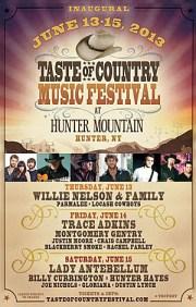 taste of country music festival