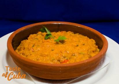 Tamal en cazuela. Restaurante Café Ajiaco
