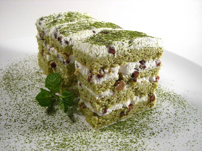 A Matcha Cake