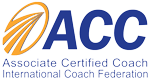 Associate Certified Coach (ACC) Badge from International Coach Federation (ICF)