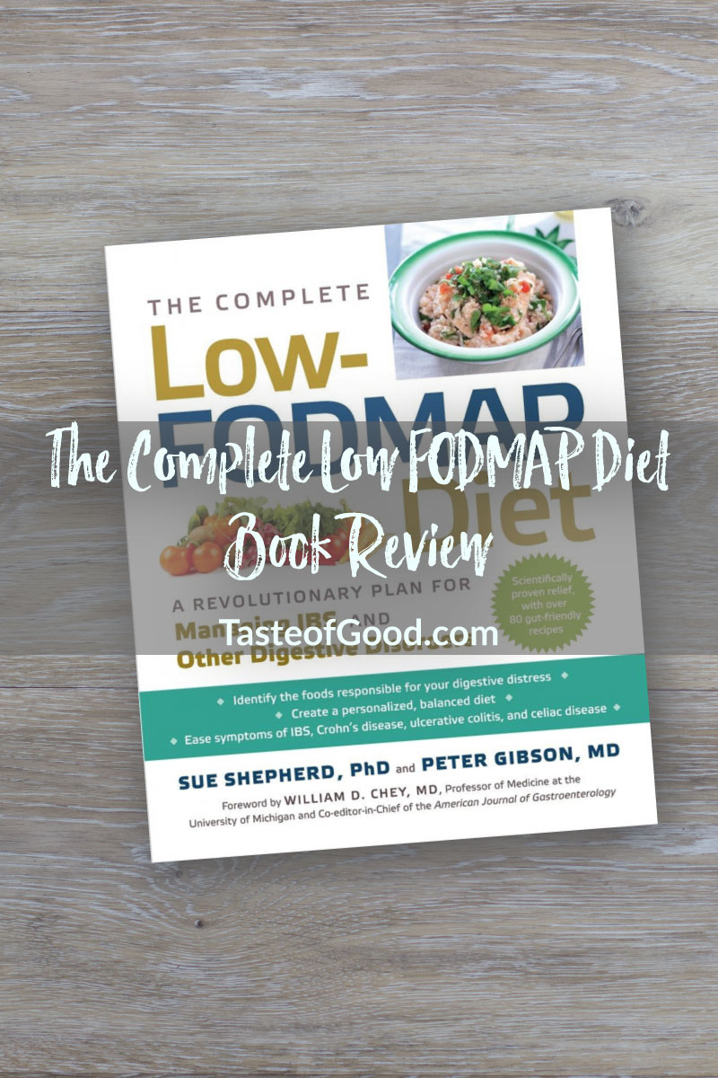 The Complete Low FODMAP Diet – Book Review