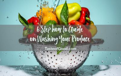 Wash it Buddy! The 6-S's of my How to Wash Produce Guide