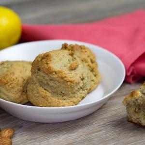 Almond Flour Lemon Vanilla scones recipe, Lemon Scones recipe, Almond Scones recipe, lemon almond scones recipe, vanilla lemon scones recipe, gluten free scones recipe