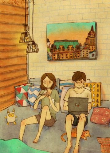 sweet-couple-love-illustrations-art-puuung-24__700