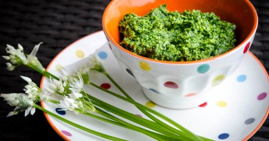 wild garlic pesto recipe