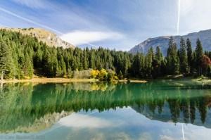 Lac Mines D'Or Morzine, Haute Savoie