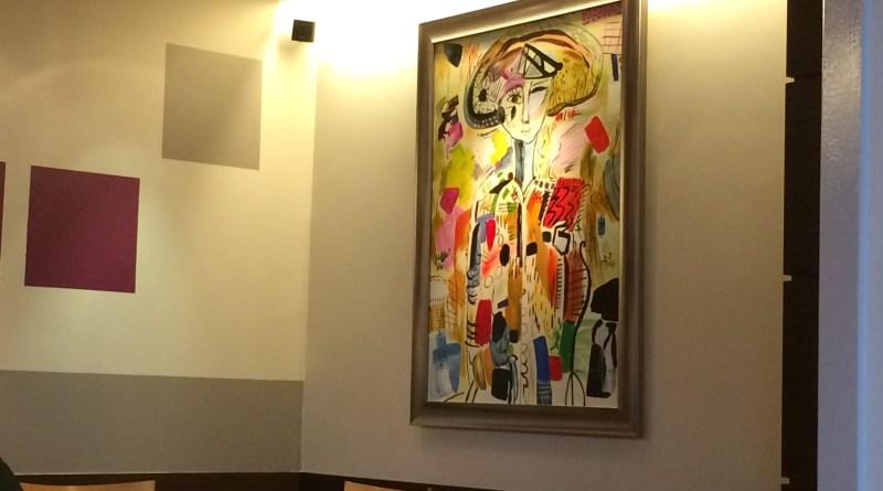 Interior decor in Le Bistro du Rhone
