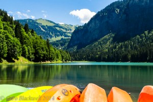 Lac Montriond, Montriond, Haute Savoie