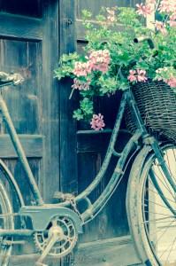 Vintage bicycle in Samoens, Haute Savoie