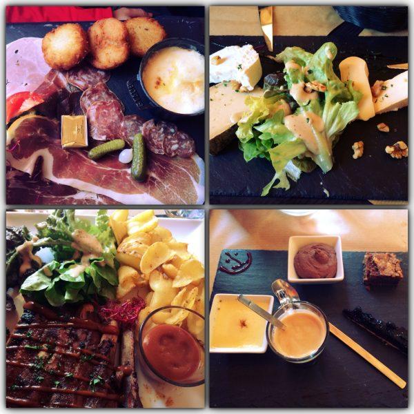 Lunch at Le QG including a Café Gourmand