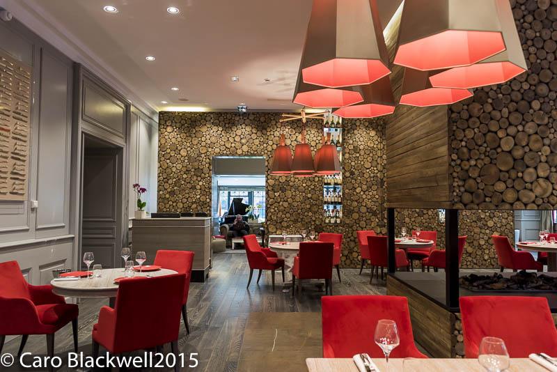Le Matafan restaurant at Hotel Mont Blanc, Chamonix