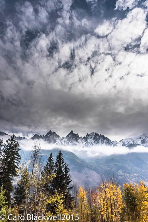 Views in Chamonix