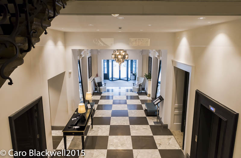 Entrance Hall of Hotel Mont Blanc