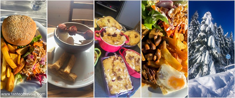 A selection of dishes at La Chanterelle Mont Chery Nord