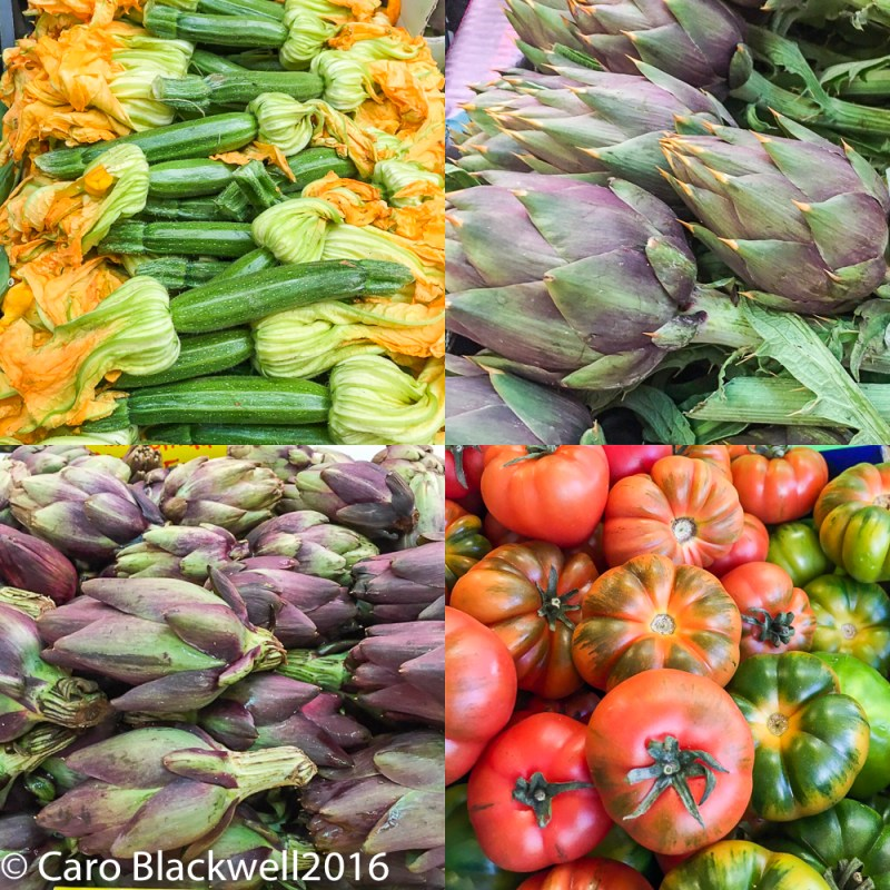Vegetables in the Mercato on Piazza Wagner, Milan