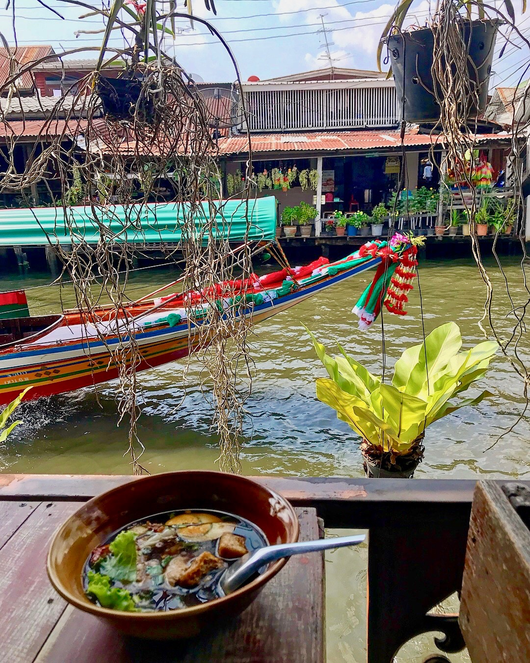 What a great place to enjoy Chinese Noodle Soup