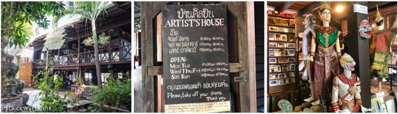 The Artists House in the Thonburi District of Bangkok