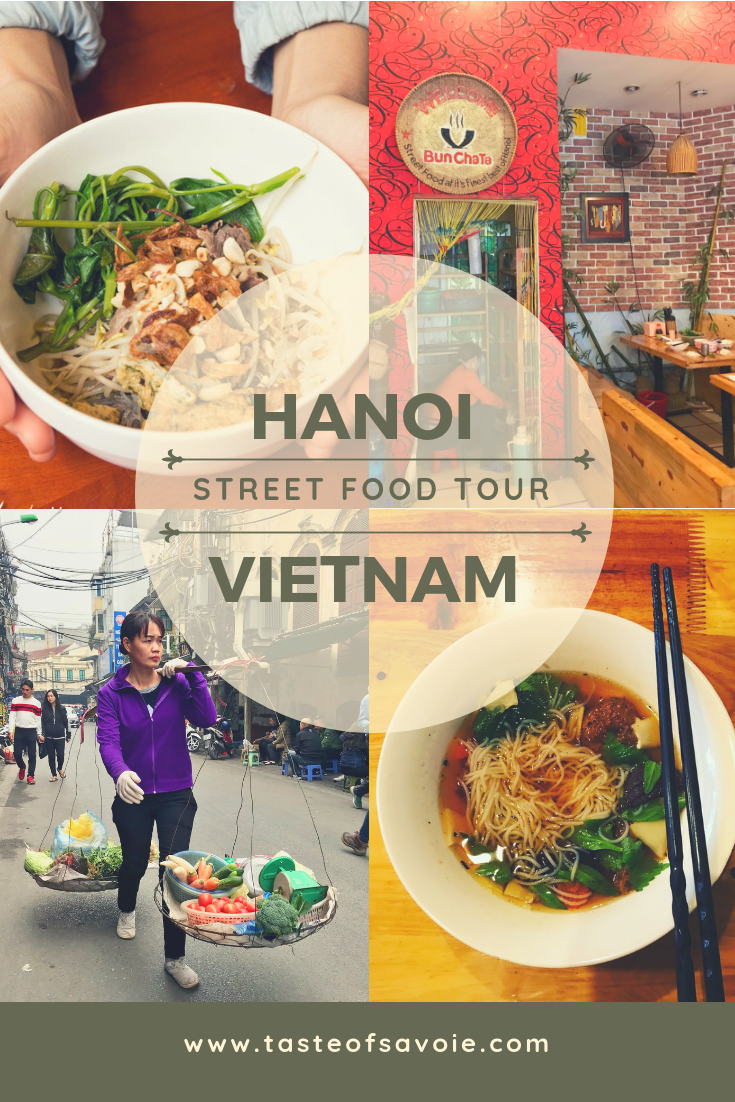 Hanoi Street Food Tour from Taste of Savoie