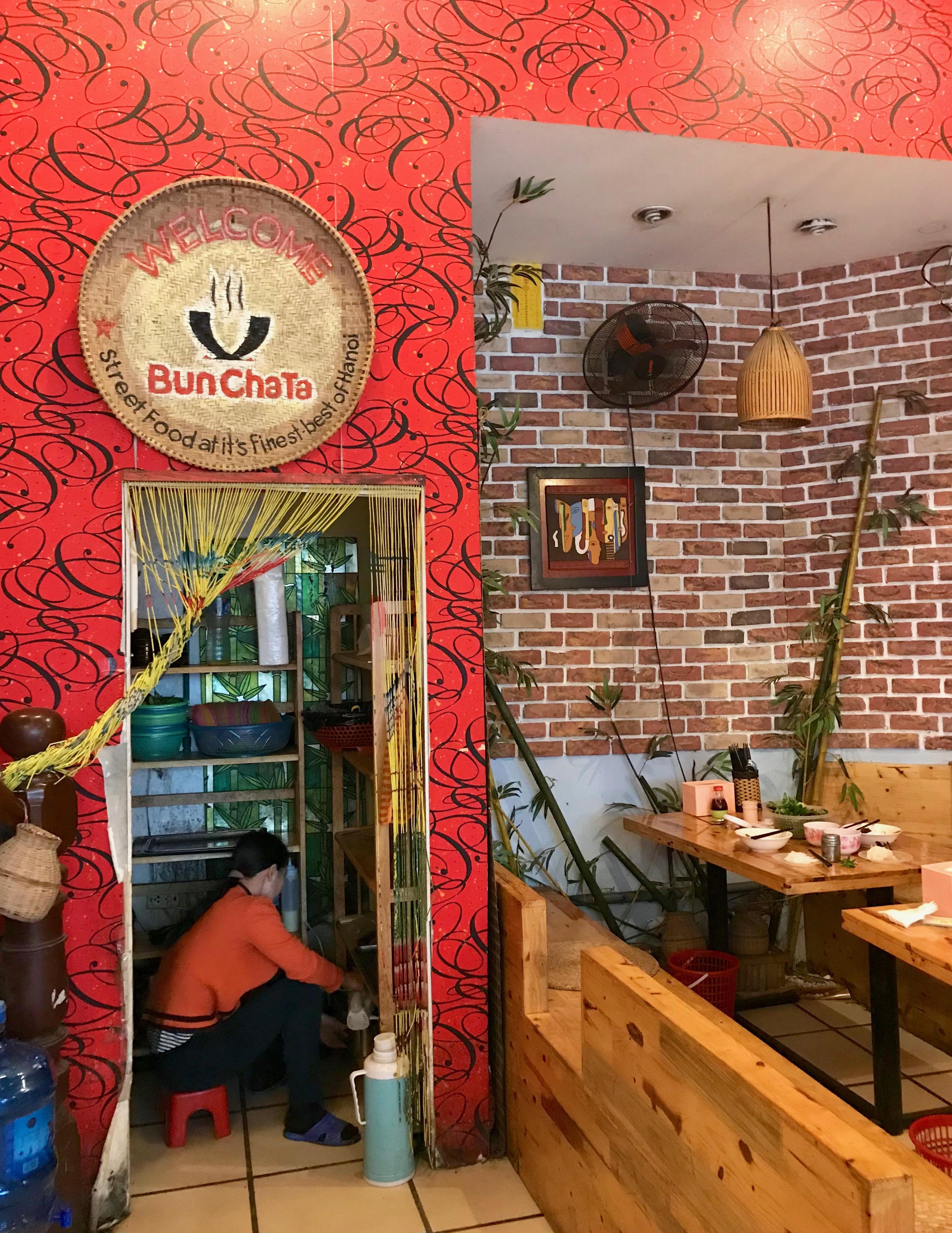 Bun Cha Ta Restaurant Hanoi