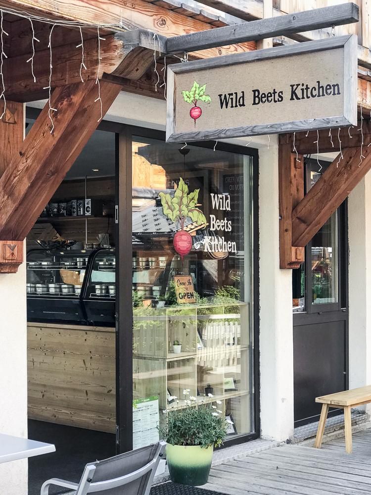 Wild beets Kitchen, Les Gets